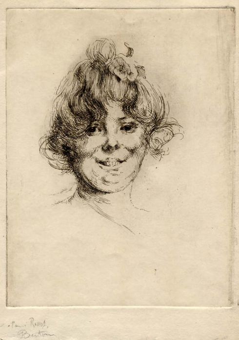 armand-berton-1854-1927-eau-forte-207-x-156-tete-de-jeune-femme-1er-etat-signe-et-dedicacee-a-lami-rosset