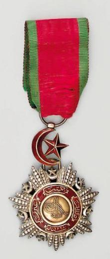 edouard-rosset-granger-medaille-de-chevalier-de-lordre-du-medjidie-turquie
