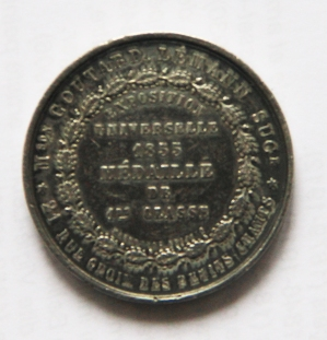 mathieu-edouard-granger-exposition-universelle-1855-medaille-de-1ere-classe-recto-diametre-38-mm