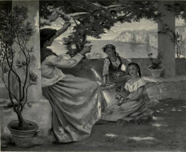 dionea-page-246bis-sur-la-terrasse-du-couvent-aquarelle