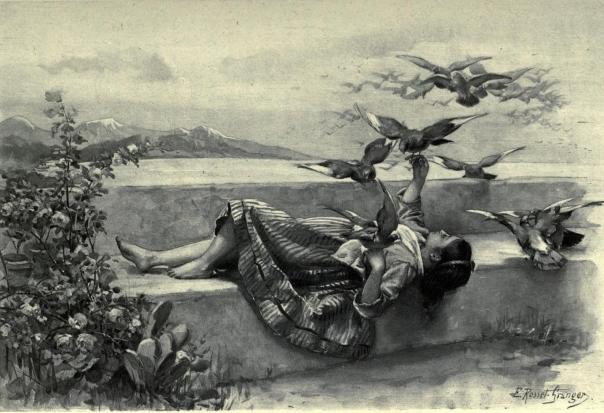dionea-page-248bis-les-pigeons-aquarelle