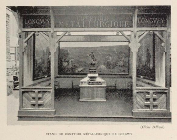 e-rosset-granger-acieries-de-longwy-stand-du-comptoir-exposition-internationale-de-nancy-1909