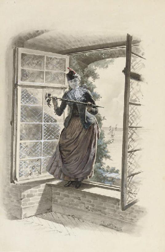 e-rosset-granger-aquarelle-1886-458-x-298-madame-alice-une-visite-surprise-docteur-modesto-par-henry-laujol-roujon-vendu-christies-london-11-12-07-175