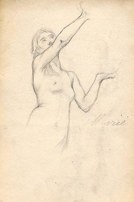 e-rosset-granger-carnet-de-croquis-1879-etude-de-nu-feminin-modele-marie-crayon-noir-206-x-130