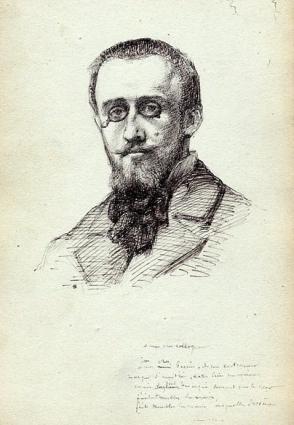 e-rosset-granger-carnet-de-croquis-1879-portrait-demile-perrin-mon-cher-collegue-erg-realisera-avec-lui-la-mise-aux-carreaux-du-nouveau-plafond-du-theatre-francais-commande-a-mazerolle-plume-206-x