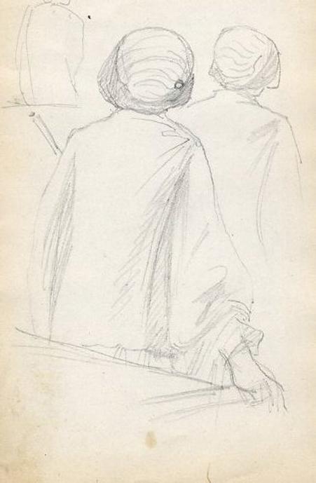 e-rosset-granger-carnet-de-croquis-1912-b-deux-femmes-de-dos-au-florian-crayon-noir-150-x-96