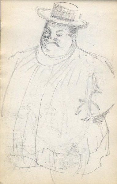 e-rosset-granger-carnet-de-croquis-1912-d-gros-personnage-au-chapeau-au-bal-crayon-noir-150-x-96