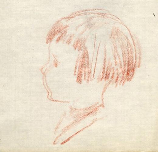 e-rosset-granger-carnet-de-croquis-1917-a-pierre-dehay-dit-la-totte-a-4-ans-a-puy-pres-de-dieppe-craie-sanguine-132-x-125