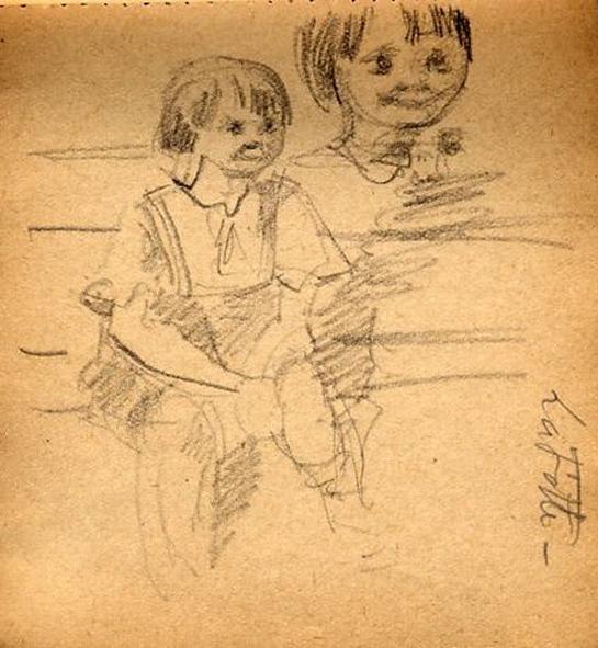 e-rosset-granger-carnet-de-croquis-1917-f-pierre-dehay-dit-la-totte-a-4-ans-assis-a-puy-pres-de-dieppe-crayon-noir-96-x-90