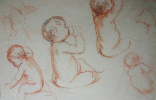e-rosset-granger-etude-de-bebe-nu-andre-simonnet-a-19-mois-craie-sanguine-rehaussee-de-noir-325-x-480