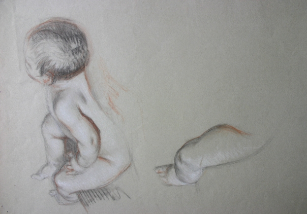 e-rosset-granger-etude-de-bebe-nu-assis-craies-noire-blanche-et-sanguine-290-x-355