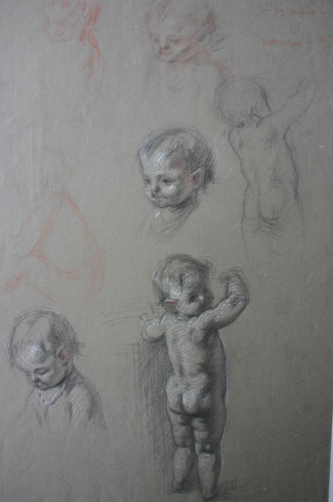e-rosset-granger-etude-de-bebe-nu-genevieve-13-mois-craies-noire-blanche-et-sanguine-425-x-290
