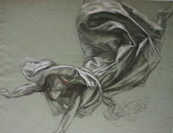 e-rosset-granger-etude-de-chute-et-de-drape-pour-illustration-de-la-guerre-de-14-15-craies-noire-blanche-et-brune-355-x-445-1920