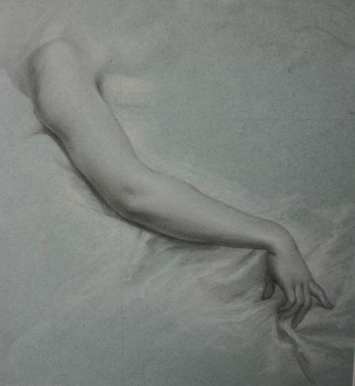 e-rosset-granger-etude-de-main-et-bras-crayon-noir-et-craies-noire-et-blanche-250-x-230