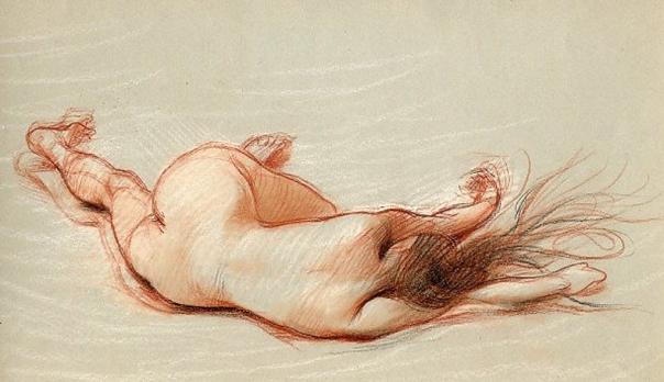 e-rosset-granger-etude-de-nu-feminin-1908-craies-de-couleurs-etude-pour-lepave-242-x-323