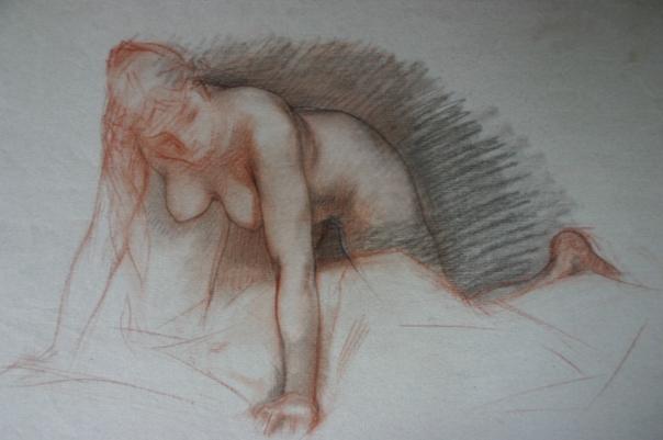 e-rosset-granger-etude-de-nu-feminin-accroupi-bras-ecartes-2-craies-sanguine-et-noire-300-x-410
