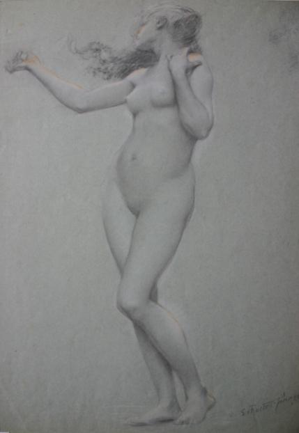 e-rosset-granger-etude-de-nu-feminin-pour-la-charmeuse-1883-musee-de-montauban-signe-craies-noire-blanche-et-sanguine-490-x-355