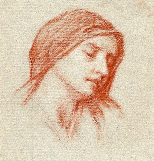 e-rosset-granger-etude-de-tete-de-marcelle-vers-1920-craie-sanguine-160-x-165