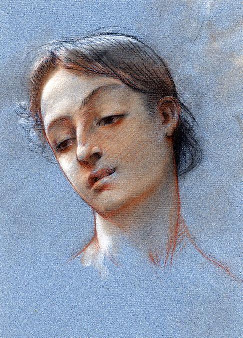 e-rosset-granger-etude-de-tete-pour-aphrodite-au-temple-du-mont-eryk-craies-de-couleurs-jeune-italienne-cheveux-noues-a-capri-1882-1883-315-x-250
