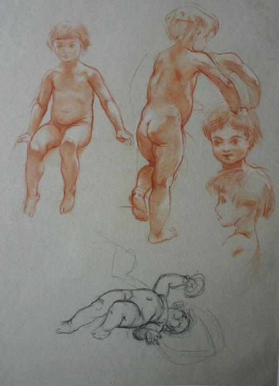 e-rosset-granger-etude-denfants-nus-craies-noire-et-sanguine-vers-1910-1912-318-x-245