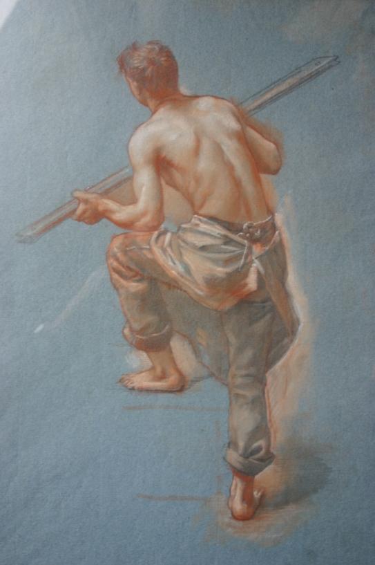 e-rosset-granger-etude-dun-travailleur-des-forges-et-acieries-de-longwy-de-wendel-pour-lexpo-univ-de-1900-craies-de-couleurs-470-x-315