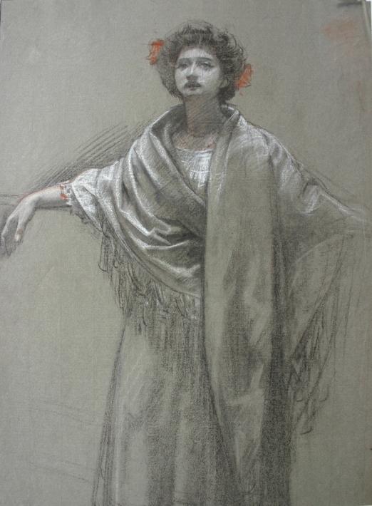 e-rosset-granger-etude-pour-la-somnambule-1897-craie-noire-rehaussee-de-couleurs-450-x-325