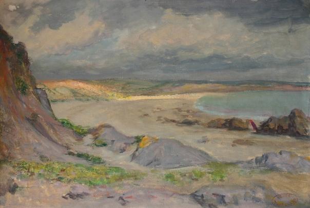 e-rosset-granger-gouache-sur-papier-1919-252-x-377-plage-de-raguenes-cachet-vente-rosset-granger-17-06-42