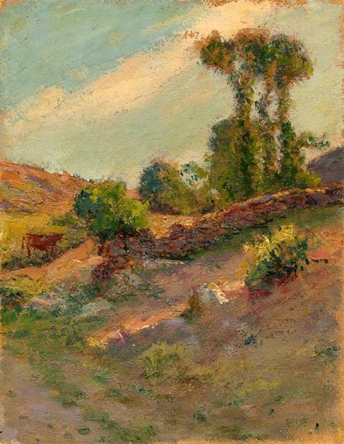 e-rosset-granger-huile-sur-carton-1926-27-270-x-210-vallon-de-ramonette-pres-de-le-palais-a-belle-isle-en-mer