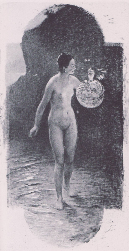 e-rosset-granger-huile-sur-panneau-1891-leau-fleur-de-nuit-ou-nocturne-snba-1891-n-818-le-nu-au-salon-1891-armand-silvestre