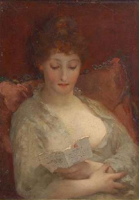 e-rosset-granger-huile-sur-panneau-1895-435-x-330-jeune-femme-a-la-lecture-vendu-horta-bruxelles-12-08-03-1300-e-lot-232