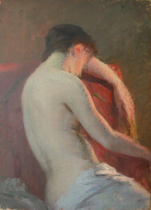 e-rosset-granger-huile-sur-panneau-1905-1910-acajou-330-x-237-etude-de-dos-nu-feminin-dans-un-fauteuil-rouge