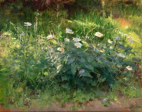 e-rosset-granger-huile-sur-panneau-1927-muzii-ou-tempera-brillante-213-x-270-vallon-de-ramonette-pres-de-la-palais-etude-de-fleurs