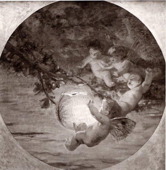 e-rosset-granger-huile-sur-panneau-rond-1912-les-moustiques-salon-de-1912