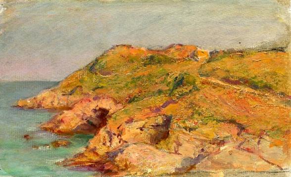 e-rosset-granger-huile-sur-papier-1926-123-x-203-plage-de-ramonette-belle-isle