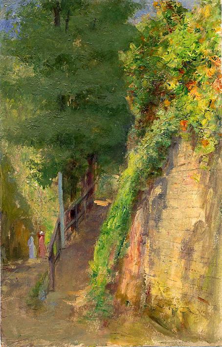 e-rosset-granger-huile-sur-papier-1926-27-288-x-185-jardins-derriere-la-porte-bangor-a-le-palais-belle-isle