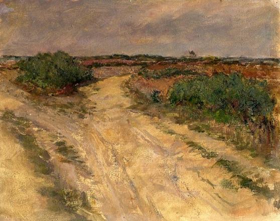 e-rosset-granger-huile-sur-papier-1927-200-x-255-les-quatre-chemins-a-belle-isle