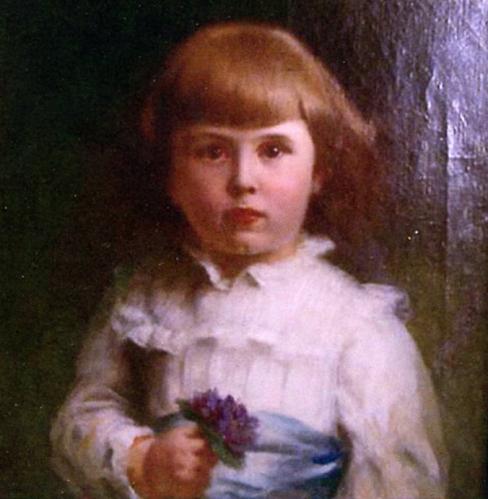 e-rosset-granger-huile-sur-toile-1883-le-colonel-robert-rutherford-mc-cormick-a-lage-de-3-ans