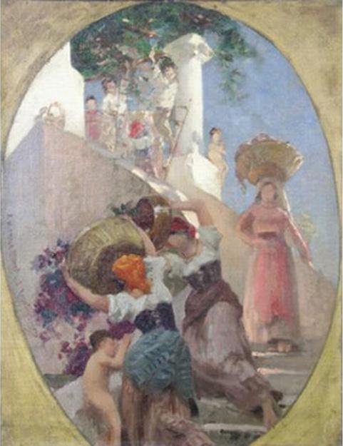 e-rosset-granger-huile-sur-toile-1887-590-x-460-les-vendanges-dedicace-a-m-emile-blavet-vente-saintes-24-06-06-est-1000-1200-e