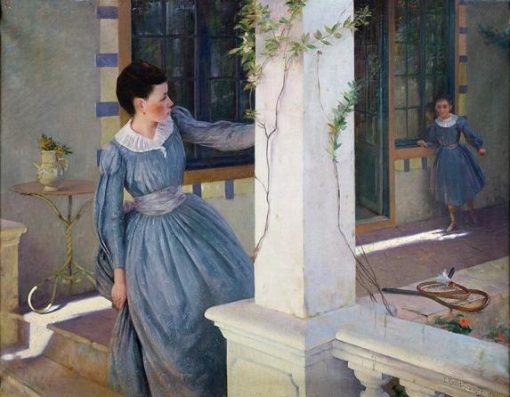 e-rosset-granger-huile-sur-toile-1890-1400-x-1800-cache-cache-snba-1890-palais-de-longchamp-musee-des-beaux-arts-de-marseille