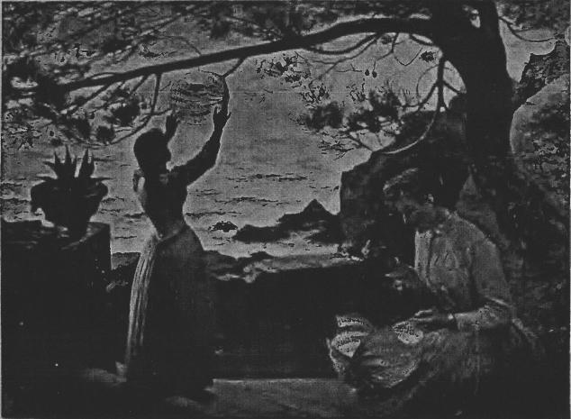 e-rosset-granger-huile-sur-toile-1890-un-soir-de-fete-en-provence-salon-de-la-ste-nationale-des-beaux-arts-de-paris-1890