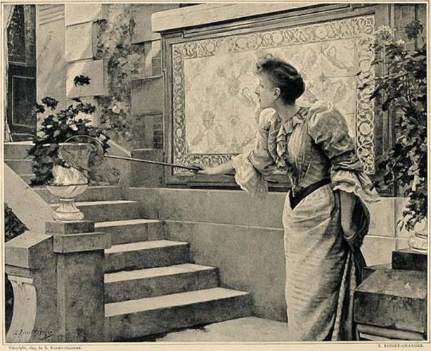 e-rosset-granger-huile-sur-toile-1892-jeune-fille-chassant-un-papillon-salon-nationale-des-beaux-arts-paris-1892-et-salon-de-chicago-1893