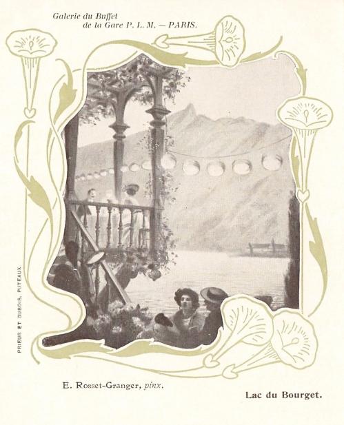 e-rosset-granger-huile-sur-toile-1900-le-lac-du-bourget-galerie-du-buffet-de-la-gare-de-lyon-plm