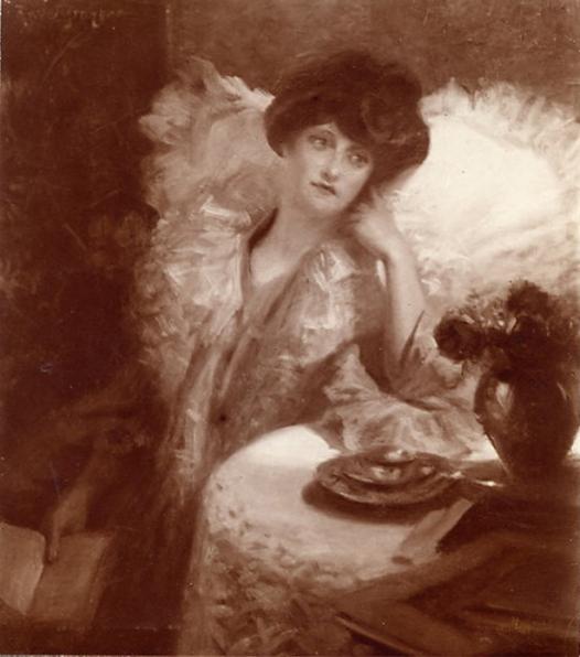 e-rosset-granger-huile-sur-toile-1907-solitude-ou-liseuse-a-table-marcelle