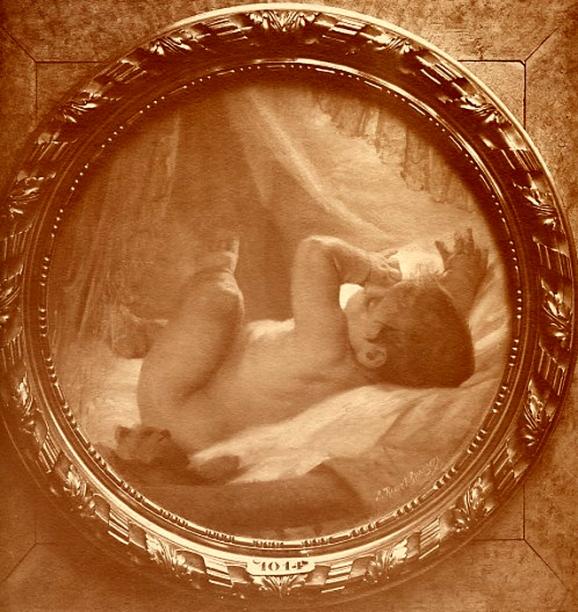 e-rosset-granger-huile-sur-toile-1909-le-reveil-snba-1909-n-1014