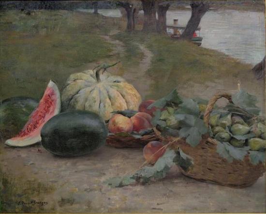 e-rosset-granger-huile-sur-toile-1910-610-x-740-corbeille-de-fruits-pres-de-leau