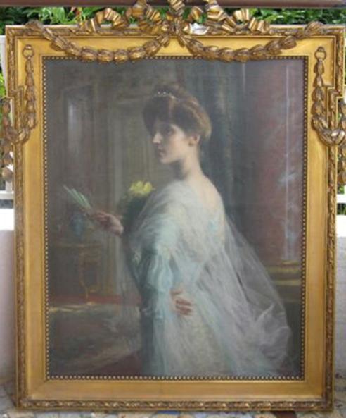 e-rosset-granger-huile-sur-toile-1911-portrait-de-marcelle-elegante-a-leventail-810-x-650-2-succ-jacqueline-lecocq-hannon