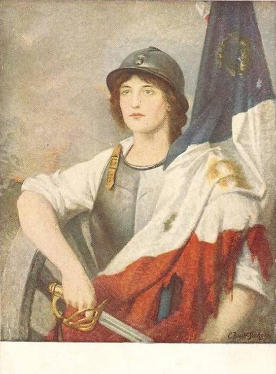 e-rosset-granger-huile-sur-toile-1918-verdun-2-marcelle-servant-de-modele-snba-1918