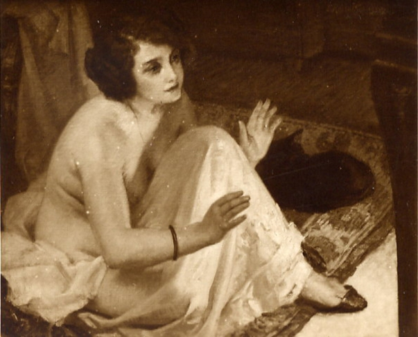 e-rosset-granger-huile-sur-toile-1923-pres-du-feu-salon-de-la-ste-nationale-des-beaux-arts-de-paris-1923