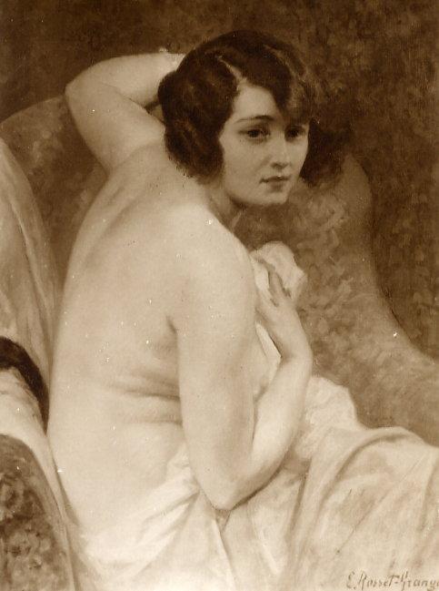 e-rosset-granger-huile-sur-toile-1925-etude-ou-nymphe-surprise-1ere-version-salon-de-la-ste-nationale-des-beaux-arts-de-paris-1925