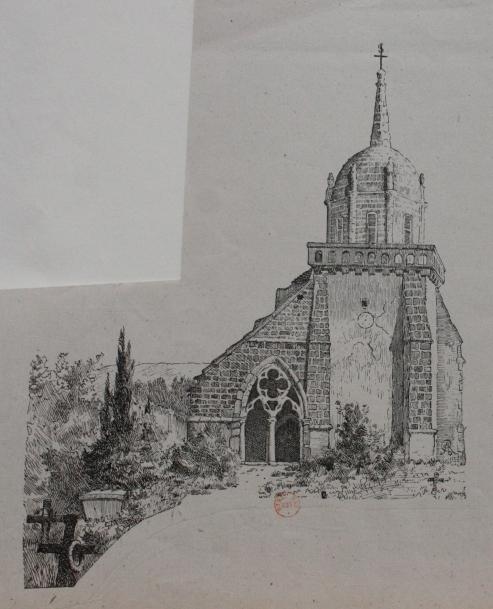 e-rosset-granger-illustration-dune-eglise-pour-un-livre-bnf